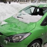 Борьба с сосульками в Санкт-Петербурге